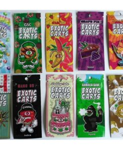 Exotic Carts THC Cartridges