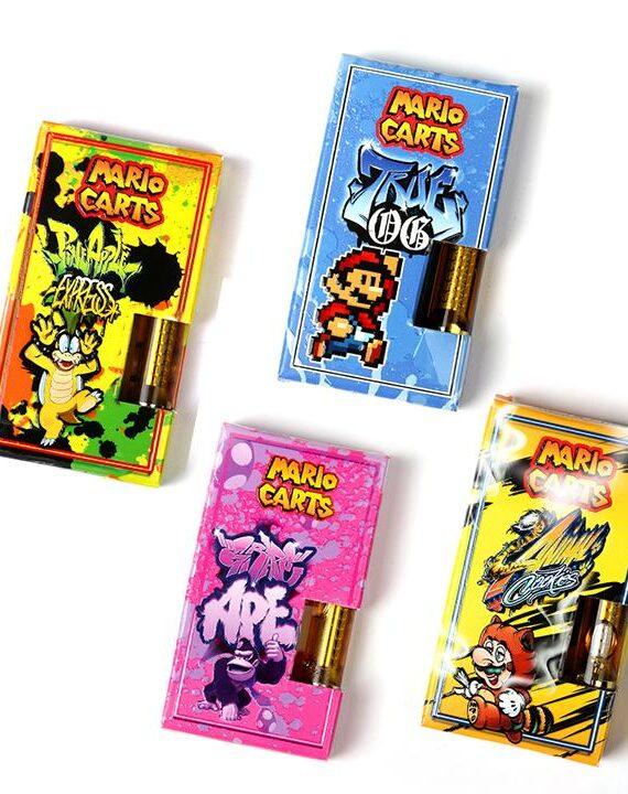 Mario Carts THC Cartridges